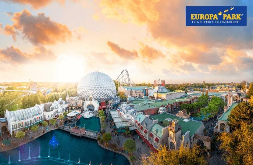 Ökostrom mit Extra: 2 Europa-Park Eintrittskarten